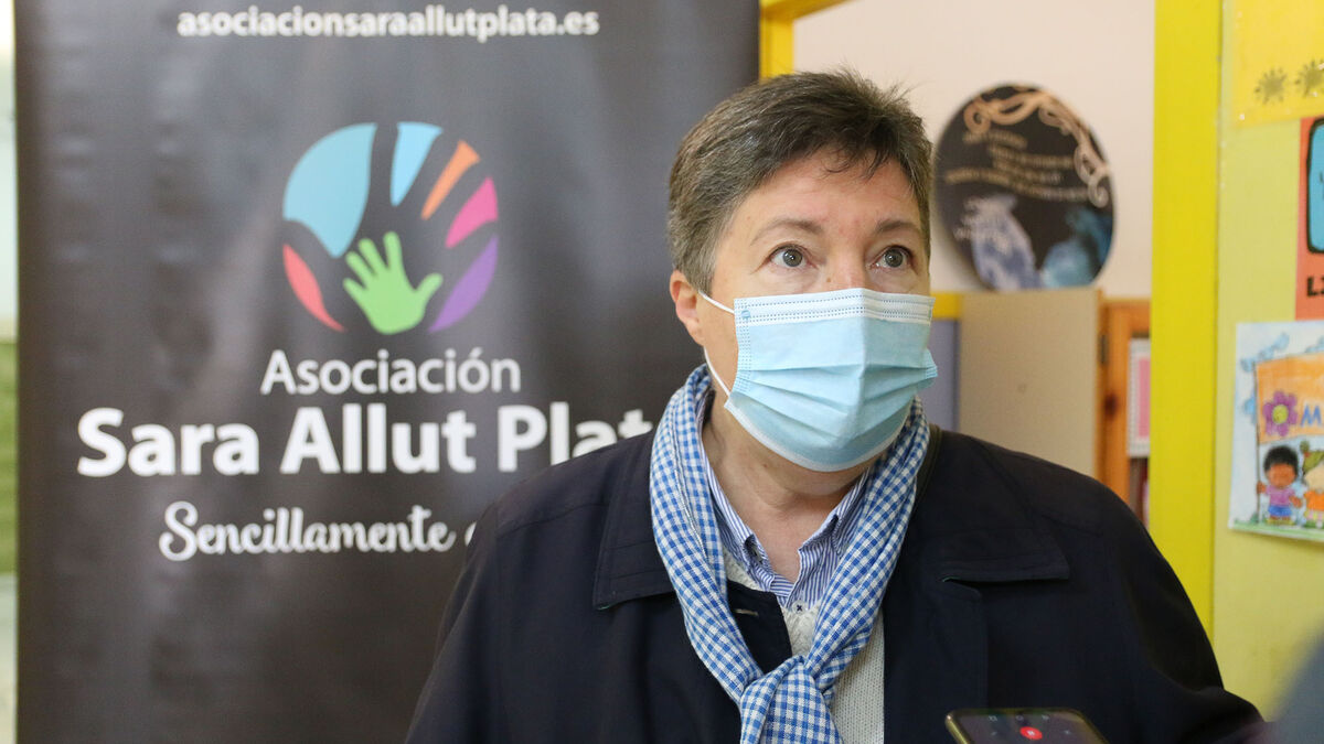 Antonio Huete en el CEIP Alfredo Molina La Fuentecica - Sara Allut Plata