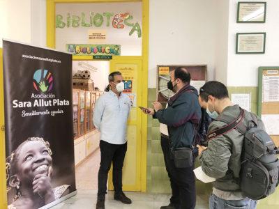 La Asociación Sara Allut Plata se traslada a los niños del CEIP Alfredo Molina Martín de La Fuentecica